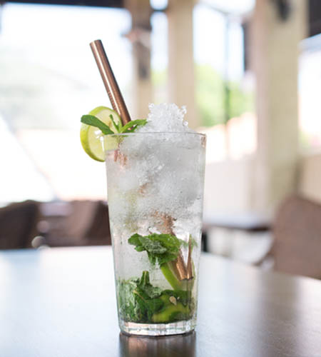 Lime and Mint Mojito